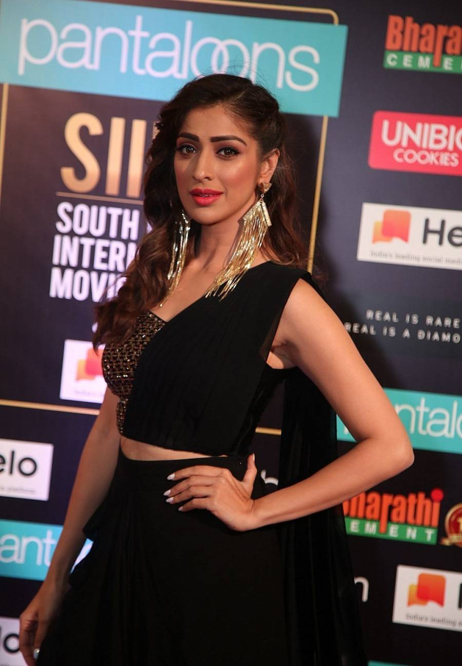 South Indian Actress Raai Laxmi at SIIMA Awards 2019