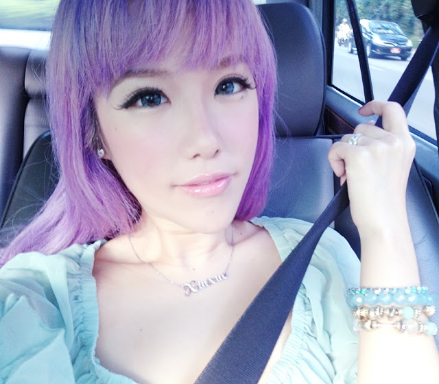 Dating no filter asian girl with pink hair