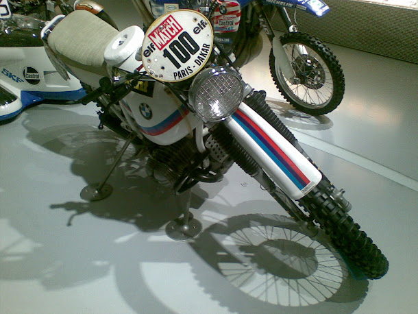 BMW motorbike for Paris Dakar race