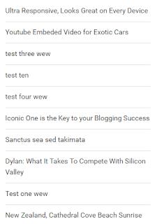 Cara Memasang Widget Artikel Terbaru yang Simpel dan Ringan