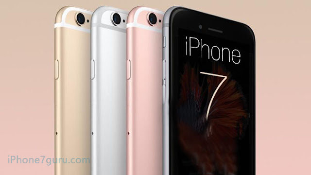 Available Color of iPhone 7 With Picture