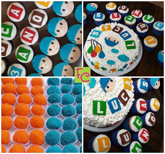 Bolo - Cupcakes - Doces - Pocoyo