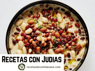 Te presentamos Recetas con Judías o Alubias de la Cocina Española.