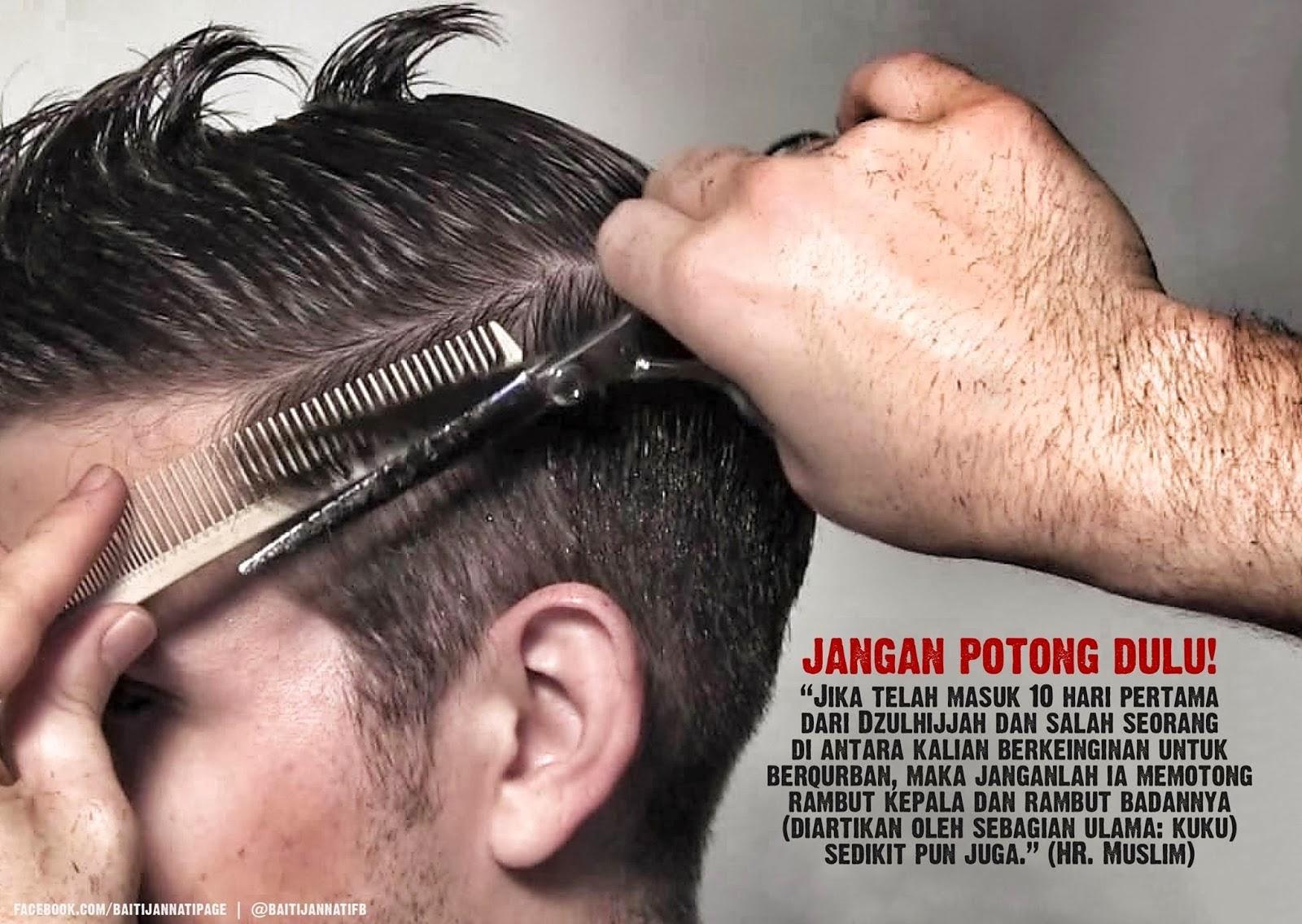 Larangan Mencukur Rambut Dan Memotong Kuku Bagi Shohibul Qurban 98433b51d5