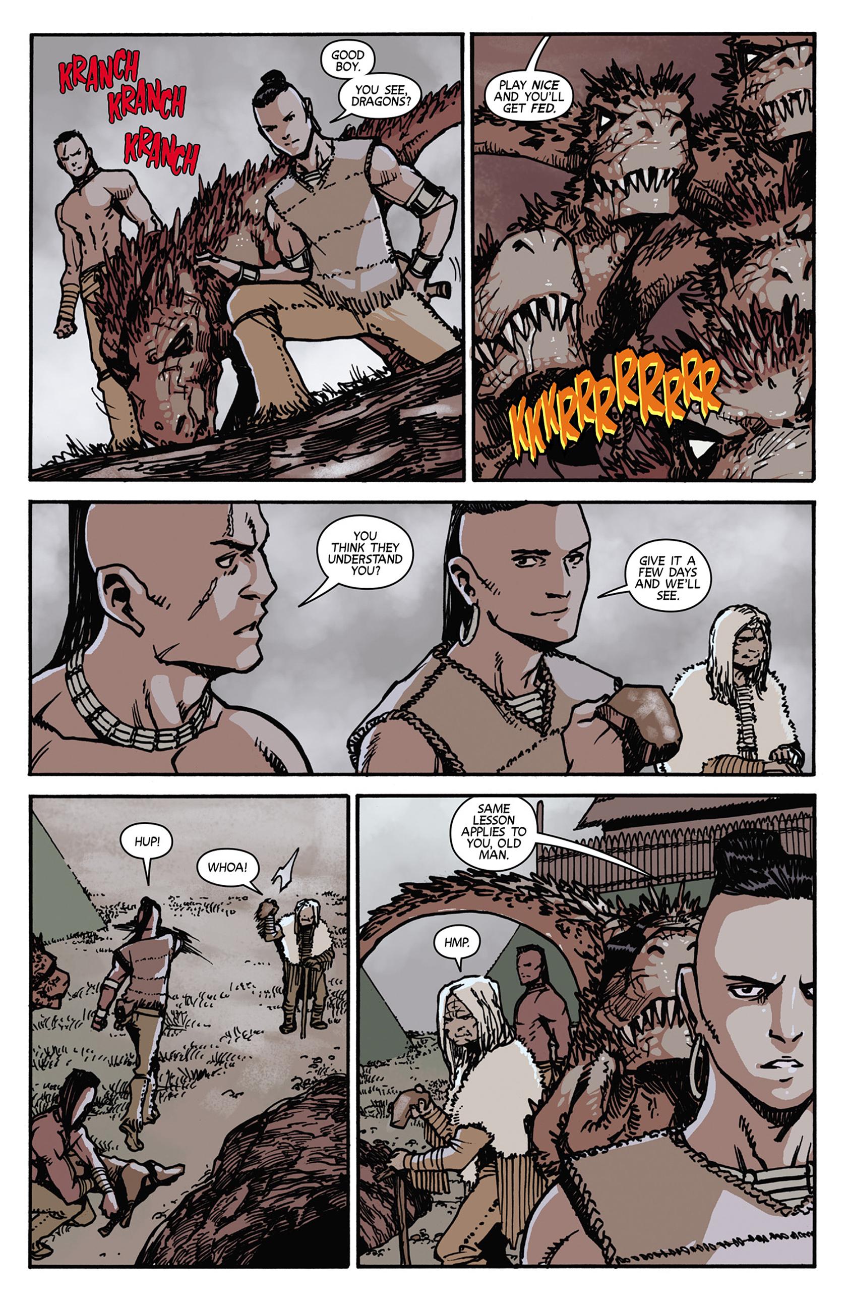 Read online Turok: Dinosaur Hunter (2014) comic -  Issue #7 - 9
