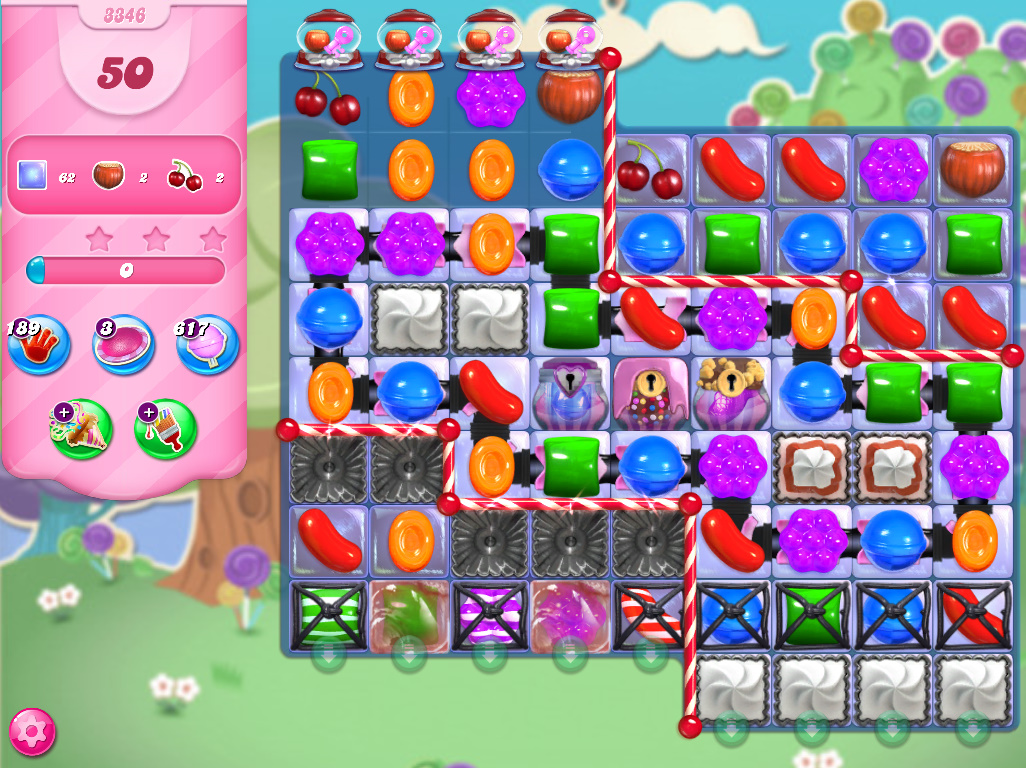 Candy Crush Saga level 3346