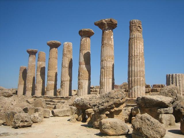 Agrigento - Templo de Heracles