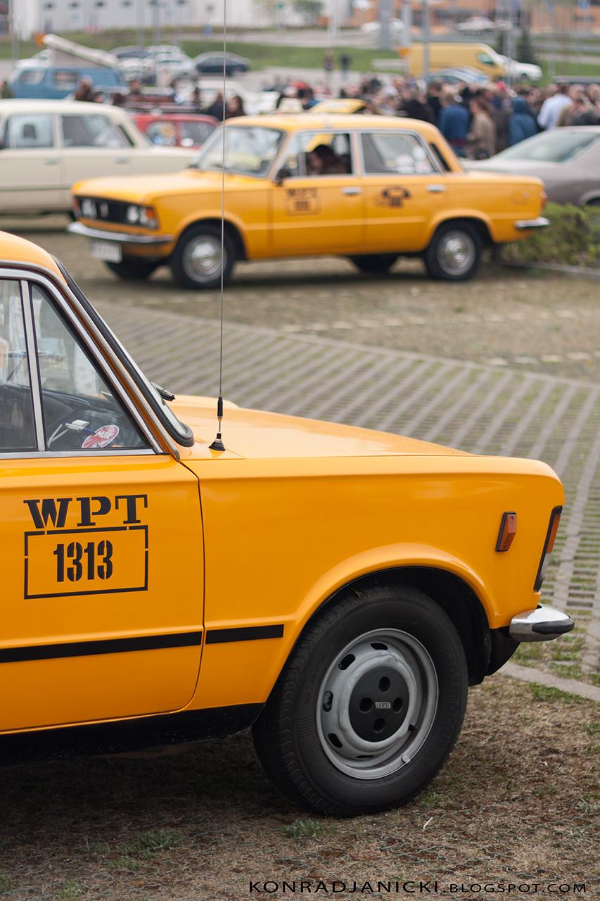 replika taksówki z filmu zmiennicy - polski fiat