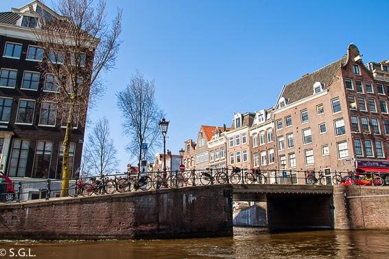 Amsterdam, paseo en barco por sus canales