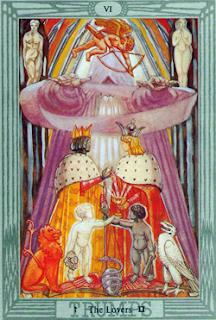 Magick of Gemini the Lovers VI: Thoth Tarot trump