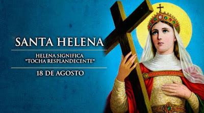 Santa Helena que resgatou a Santa Cruz de Cristo