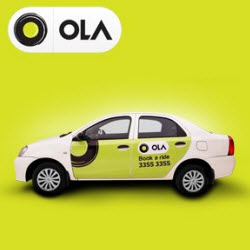 Olacabs 50% Off offer