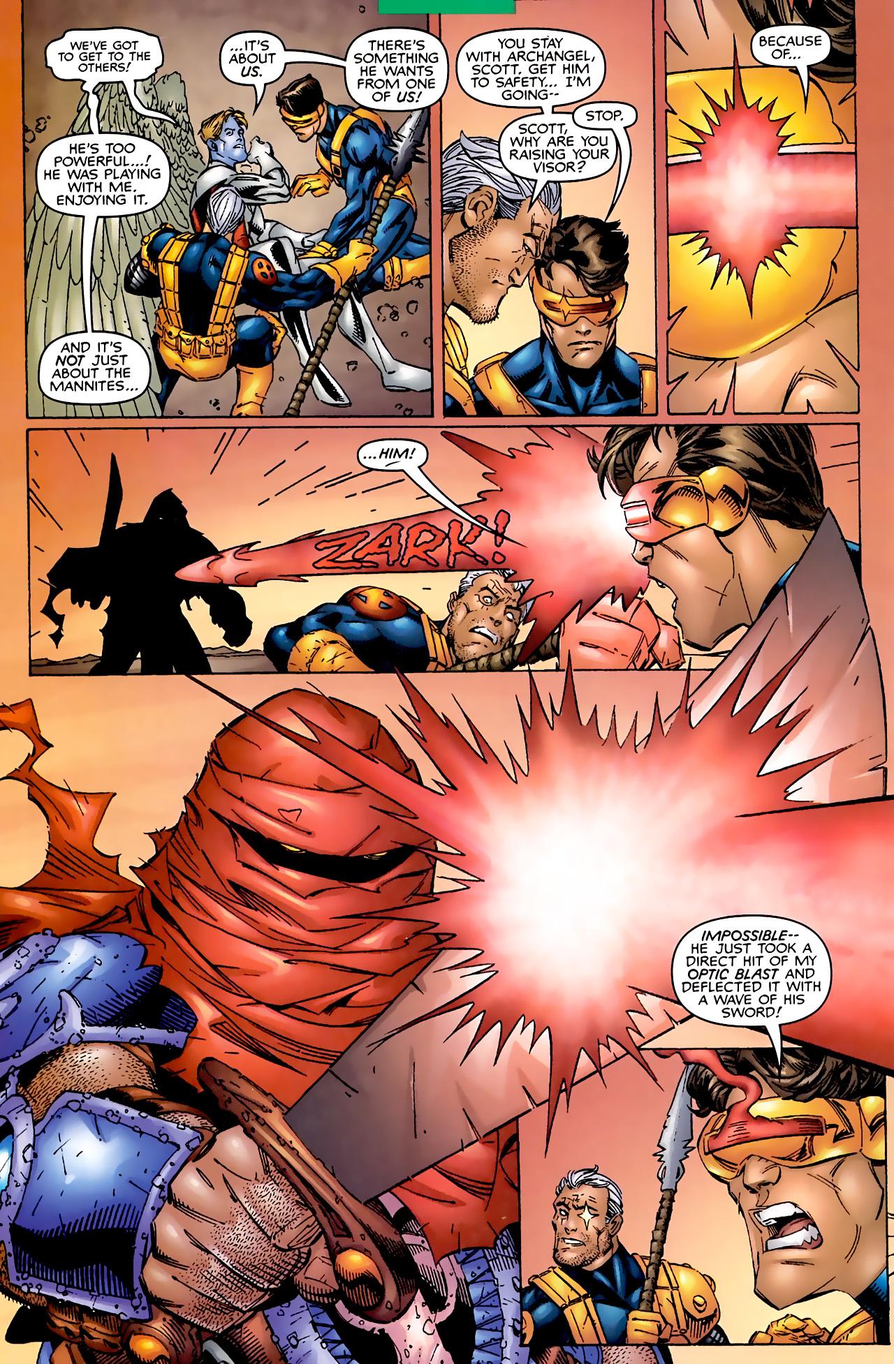 Read online Astonishing X-Men (1999) comic -  Issue #2 - 17