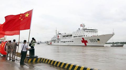 China Sent A Floating Hospital To The Philippines Despite Of The Dispute!