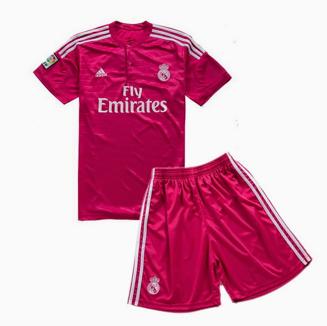 b73d2226aa551 los fans de fútbol  La camiseta del Real Madrid rosa 2014 2015 es un éxito  de ventas