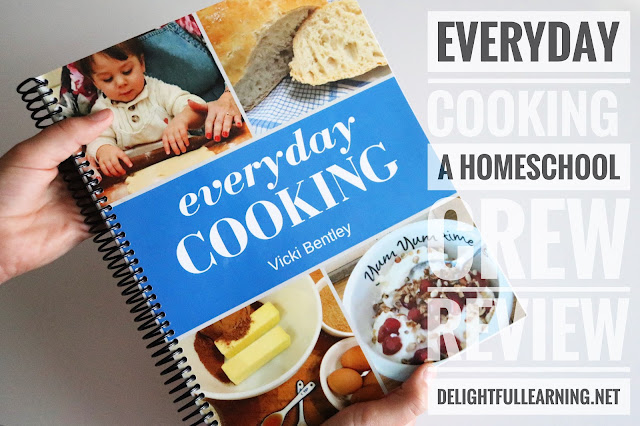 Everyday Cooking Cookbook Review at Delightful Learning