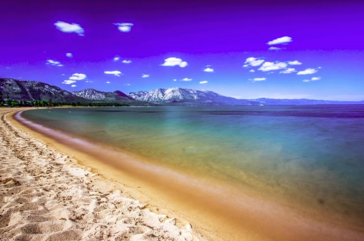 19. Lake Tahoe, Sierra Nevada, USA - 29 Most Exciting Beaches to Visit