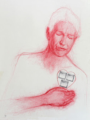 """Control"", ""Alt"",""supr"",""dibujo"",""draw"",""boli"",""ink"",""pen"",""ilustración"",""illustration"",""madre"",""mom"",""corazón"",""heart"",""vida"",""life"",""contemporary"",""contemporaryart"",""arte"""