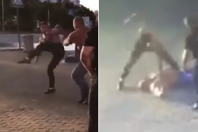 MMA fighter arrested for allegedly killing weightlifter in street fight