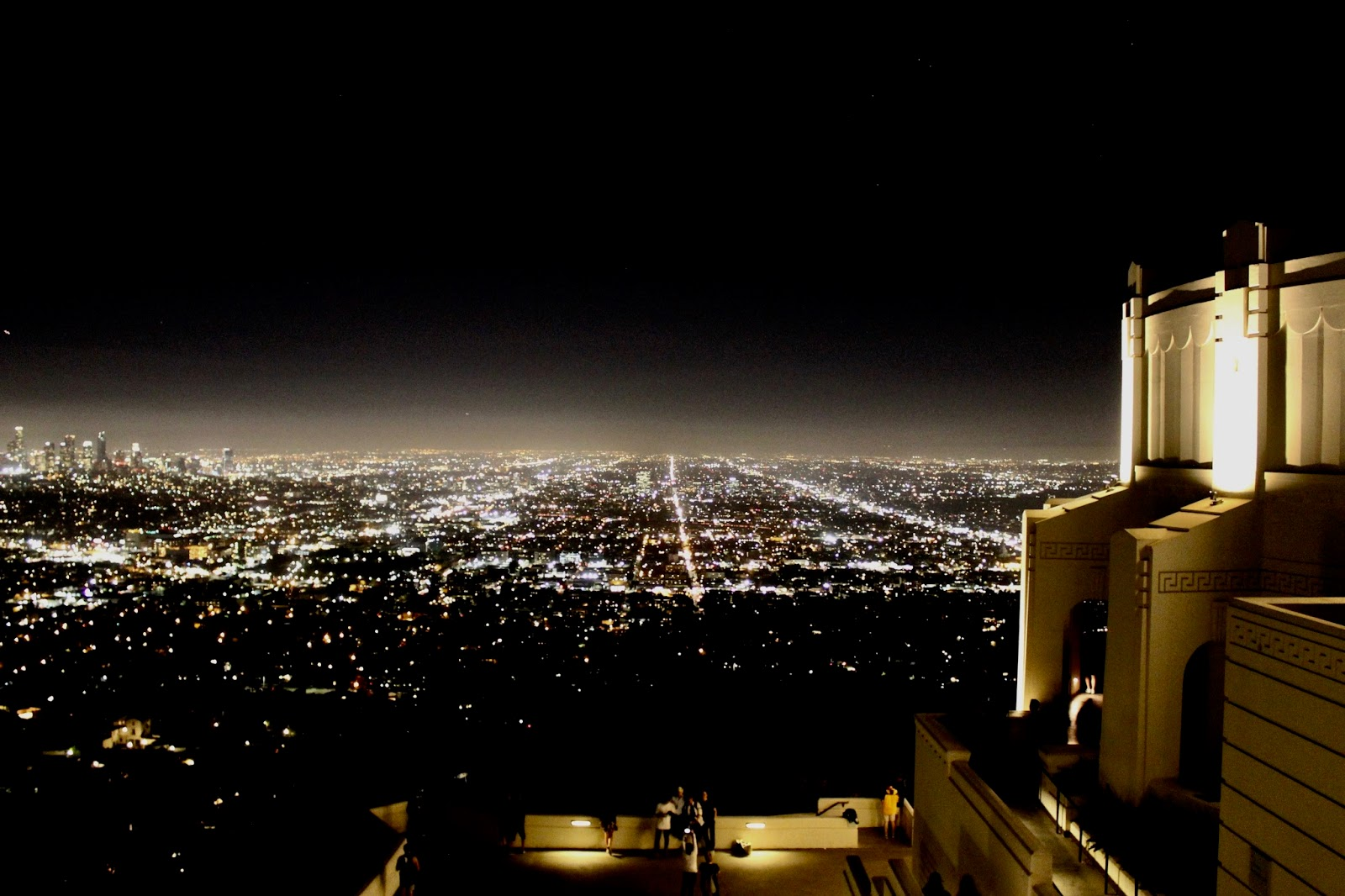 Los Angeles Griffith Observatory at Night