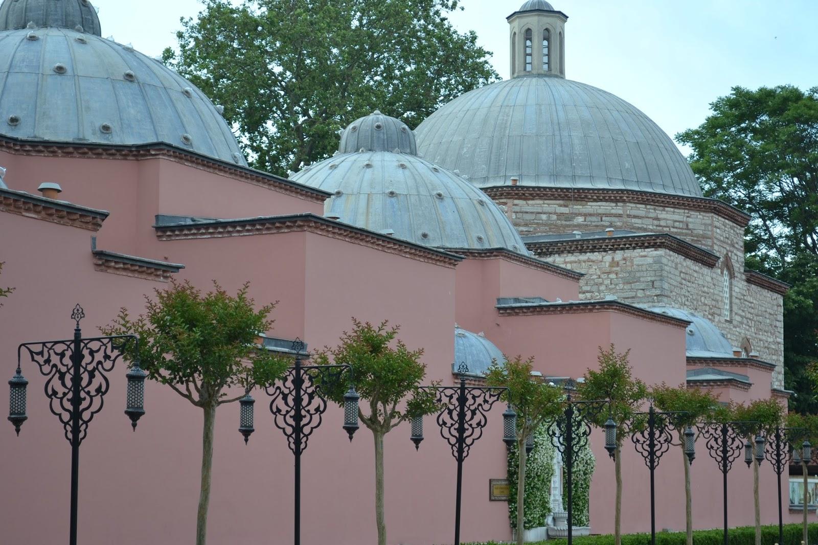 parc sultan ahmet, Istanbul, Turquie, sainte sophie