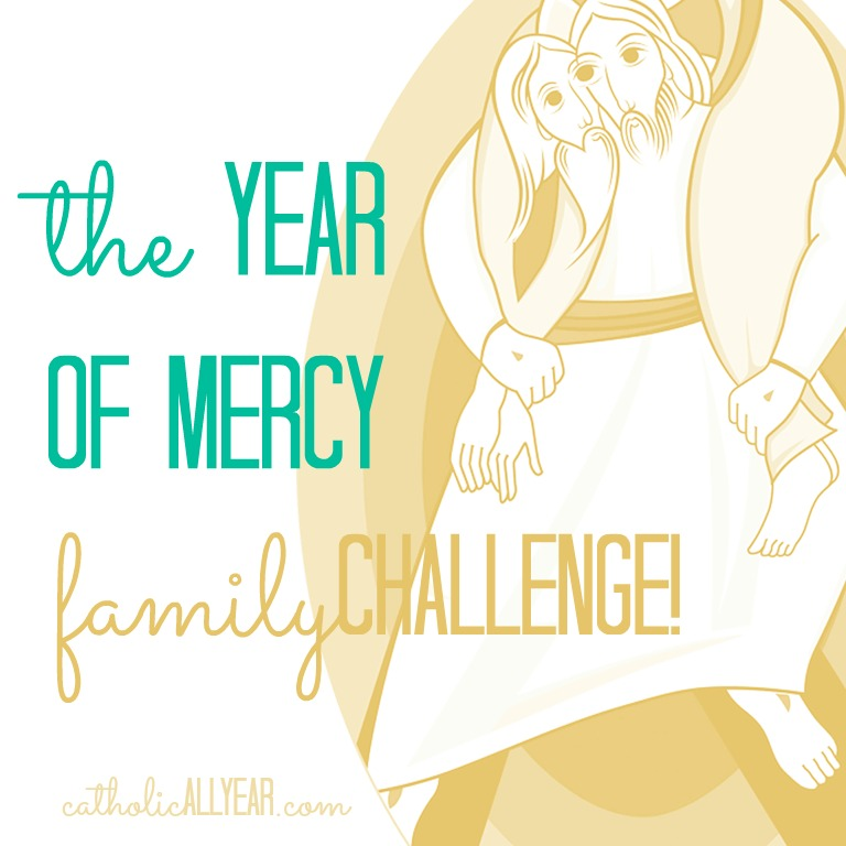 The year of mercy family challenge catholic all year bloglovin to be mindful of the year of mercy in our home and we came up with a year of mercy family challenge to go with it perhaps youd like to play along fandeluxe Gallery