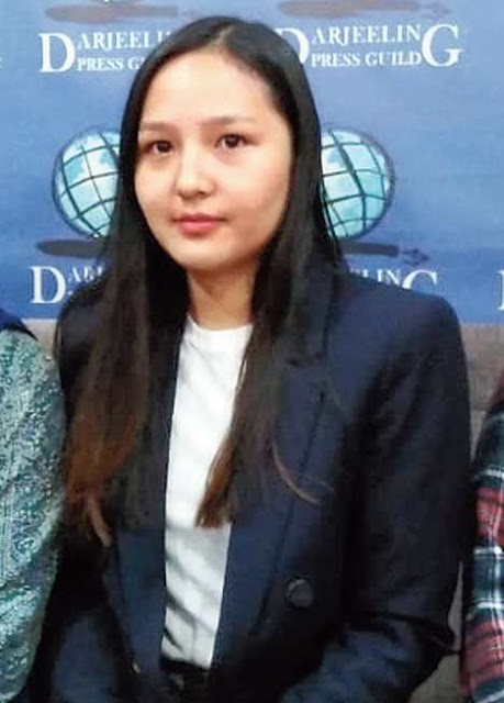 Darjeeling girl bagged govt scholarship with post-graduate course at University of London