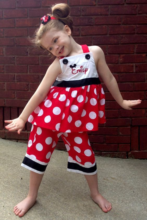 Mini Mouse Polkadots Dress Image 18