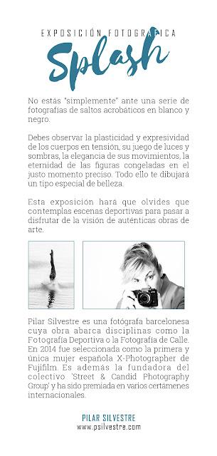 Exposición Fotográfica 'Splash', de Pilar Silvestre'Splash', de Pilar Silvestre