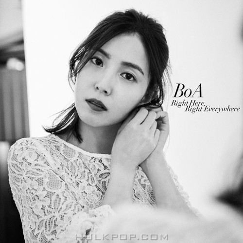 BoA – Right Here, Right Everywhere – Single