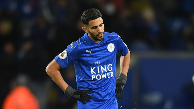 Rated at $54.2million - Riyad Mahrez would like to play for Arsenal not Liverpool