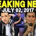 Breaking News Today July 02 2018 Mayor Sara Duterte / Trillanes/ Pres Duterte / Atty /Panelo /Tp