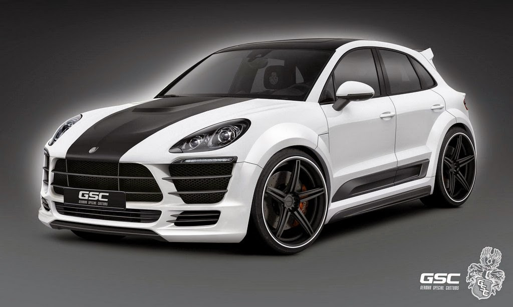 German Special Customs Bodykit für den neuen Porsche Macan