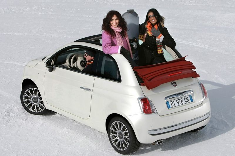 how the fiat 500 handles snow fiat 500 usa. Black Bedroom Furniture Sets. Home Design Ideas