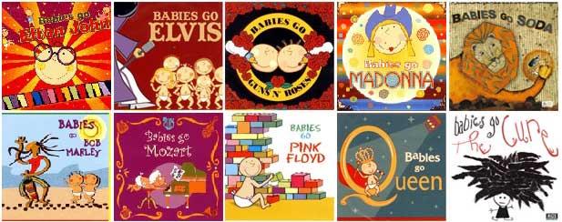 The Babies Go! Koleksi Musik Untuk Putra-Putri Anda!