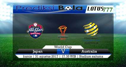 Prediksi pertandingan Jepang Vs Australia 31 Agustus 2017