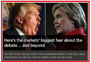 Here's the markets' biggest fear about the debate