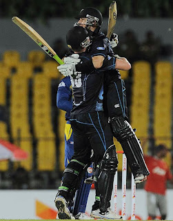 New Zealand beat Sri Lanka by 4 wickets (D/L)