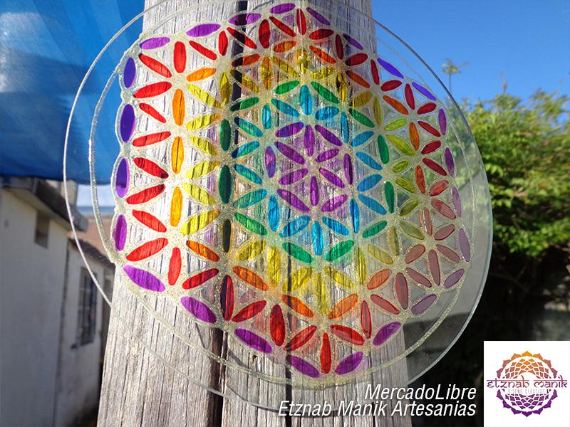 Flor De La Vida Ii Geometria Sagrada Etznab Manik Mandalas