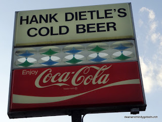 Hank Dietle's sign