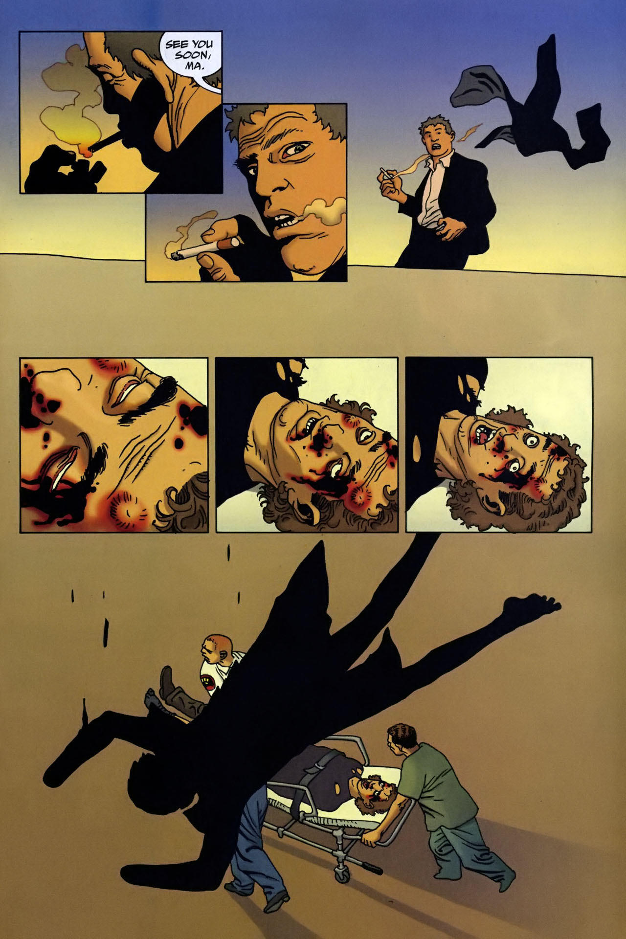 Read online 100 Bullets comic -  Issue #95 - 22