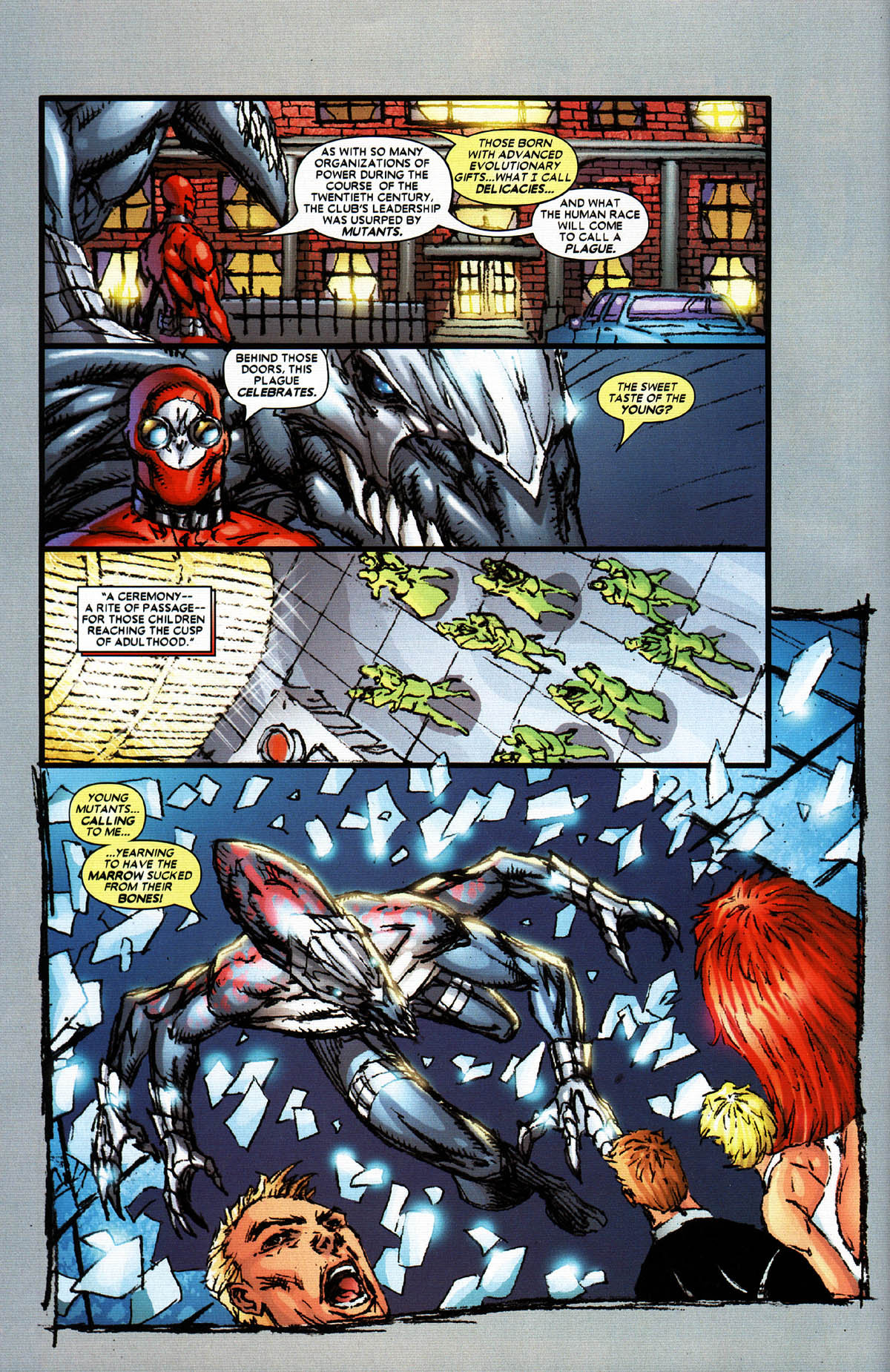 Read online X-Force (2004) comic -  Issue #5 - 11