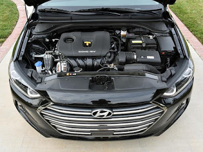 New 2017 Hyundai Elantra Engine Hd Photos