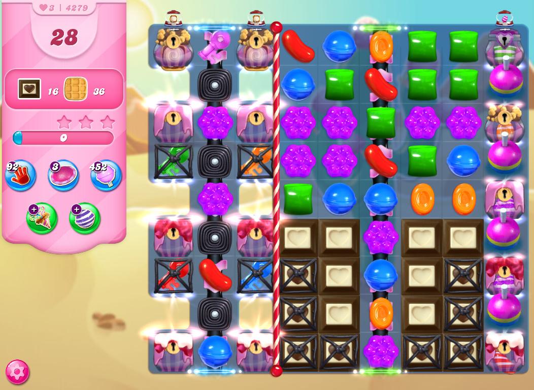 Candy Crush Saga level 4279