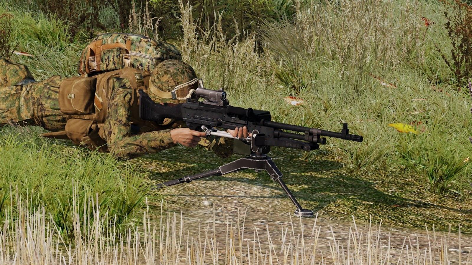 Image result for arma 3 tripod machine gun
