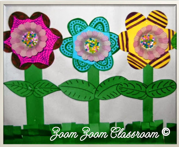 Lessons Molly Mother' Day Flower Craft