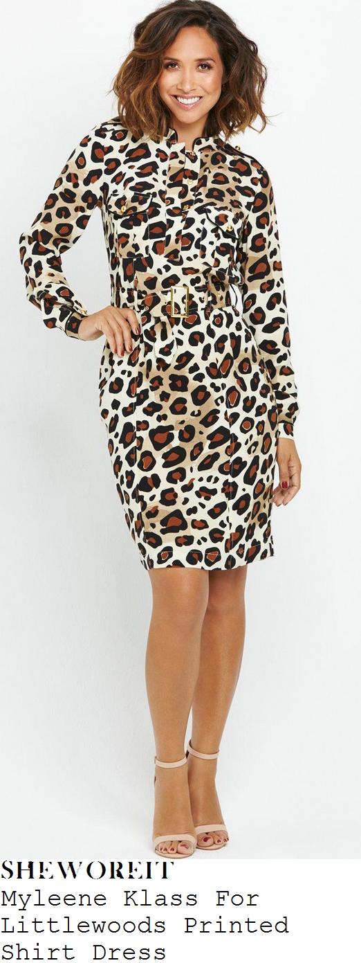 myleene-klass-leopard-animal-print-long-sleeve-pocket-detail-belted-shirt-dress-cbbc