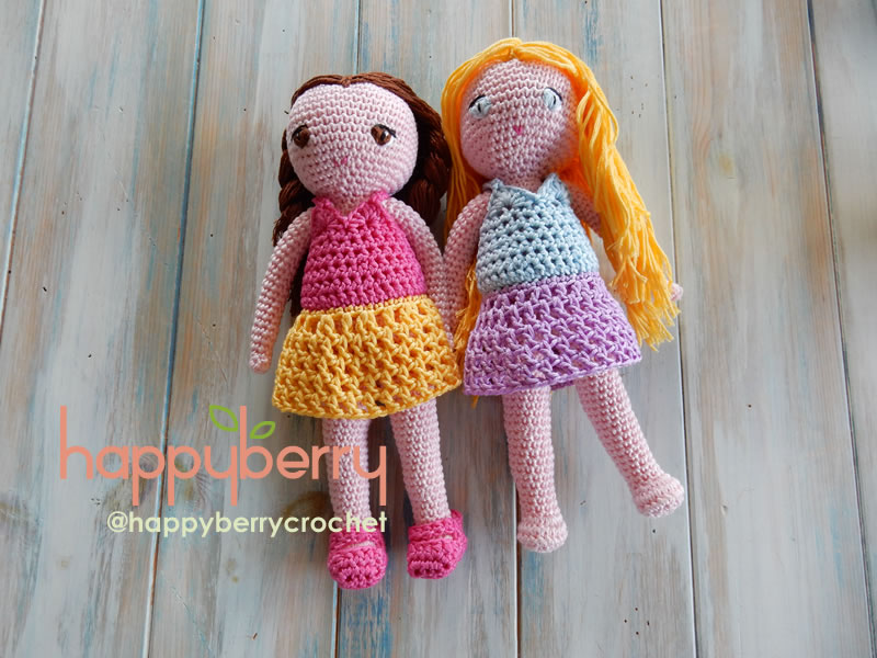 Happy Berry Crochet Crochet Amigurumi Doll Cal Ep4 Doll Dress