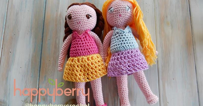How To Crochet Amigurumi Arms : Happy Berry Crochet: Crochet Amigurumi Doll CAL - Ep4 Doll ...