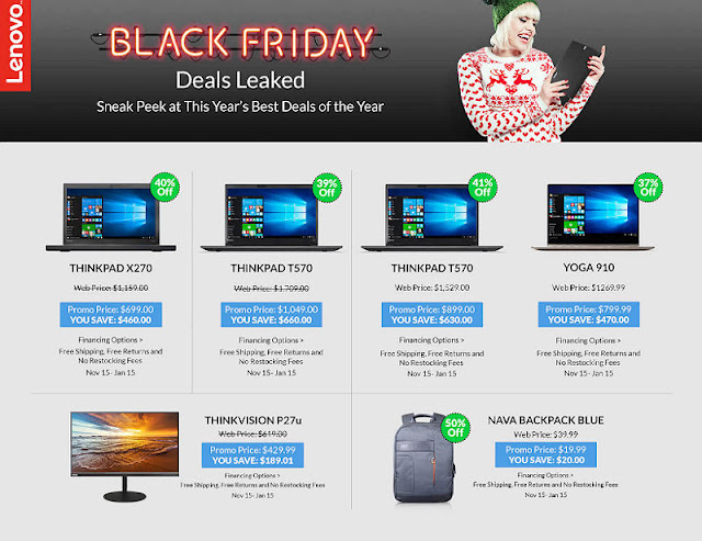 Lenovo black friday deals 2018 uk